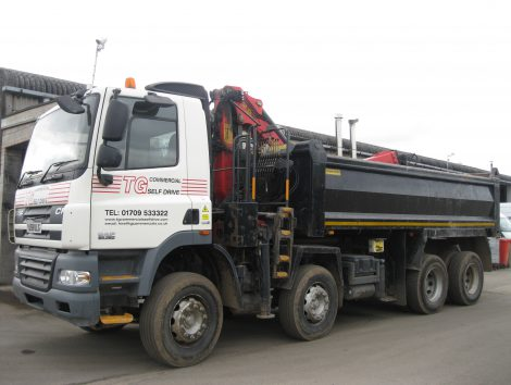 tipper trailer hire