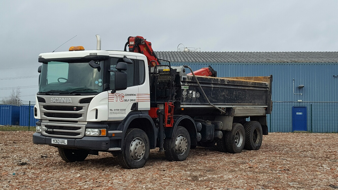 tippers for hire Manchester