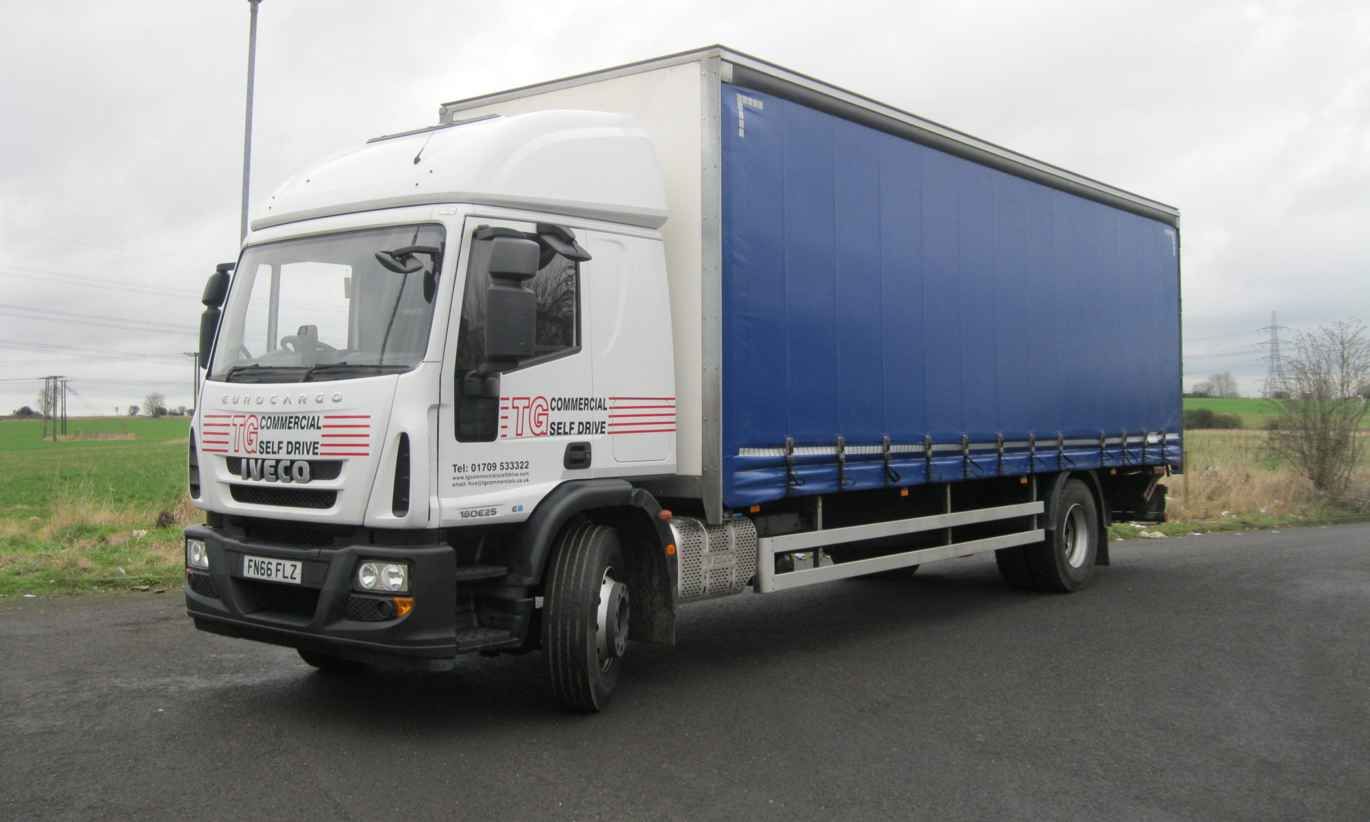 rental trucks Worksop